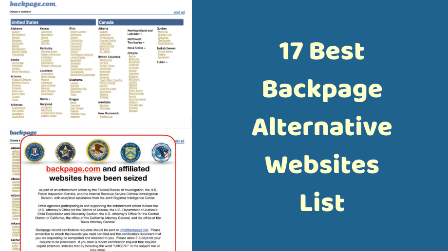 Top Backpage Alternatives – The Best New Escort Site